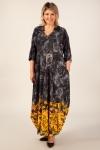 Платье Тамара Милада бохо цвет горчичный