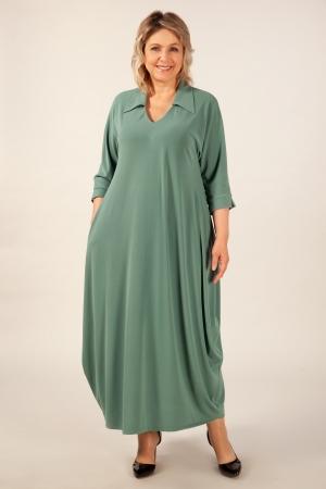 Платье Эмили Милада цвет фисташковый