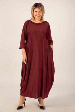 Платье Эвита Милада цвет вишневый