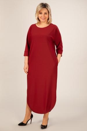 Платье Мона Милада макси платье с красного цвета
