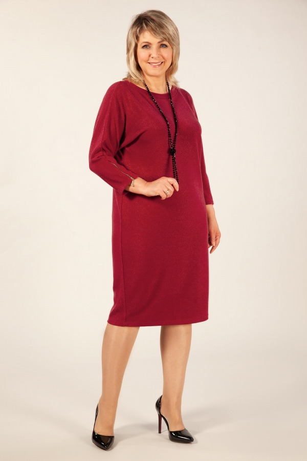 Милада красное Платье Глория