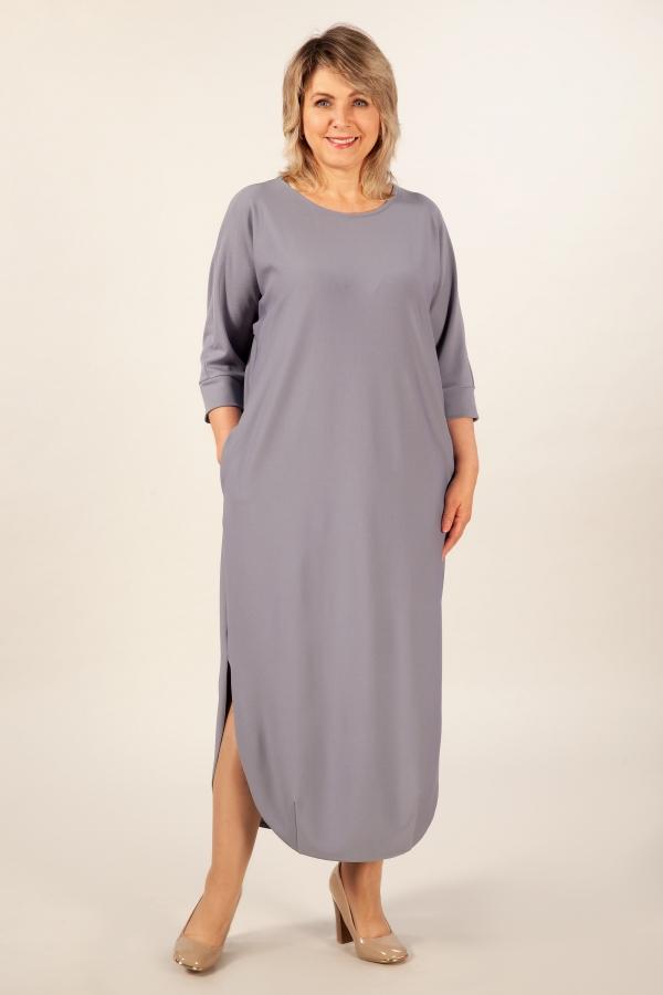 Милада свободное длинное Платье Мона