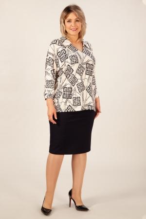 Блуза Ханна Милада с v образным вырезом