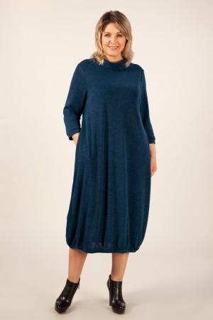 Платье Ирина Милада баллон синий