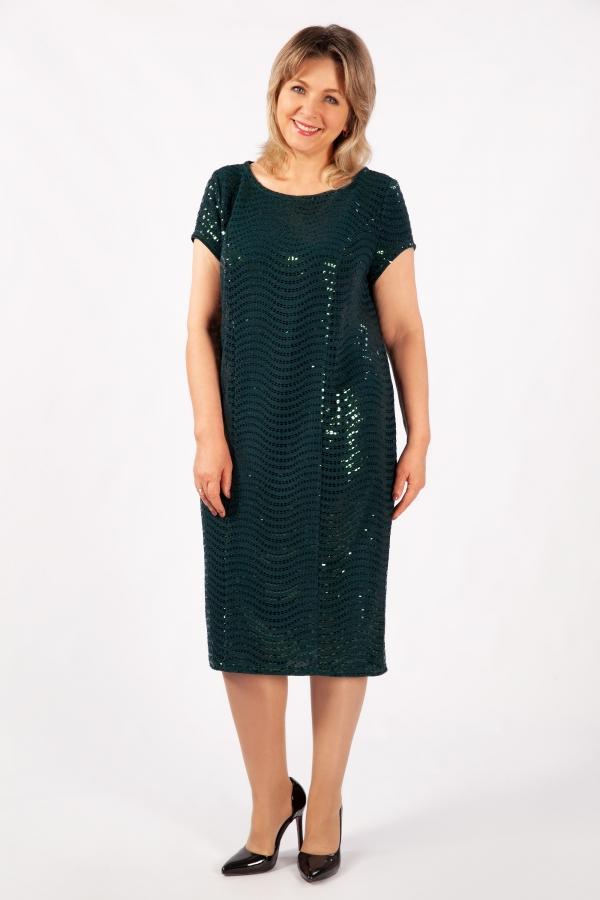 Милада зеленое с пайетками фото Платье Канны