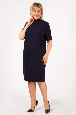 Платье Беатрис Милада вечернее темно-синее