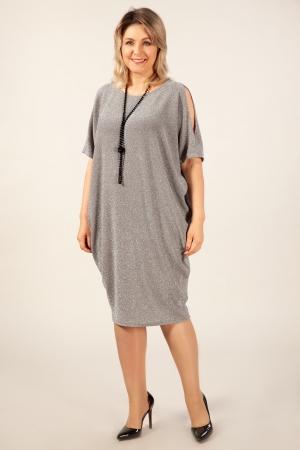 Платье Тиффани Милада бохо с люрексом