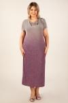 Платье Зарема Милада макси длина градиент