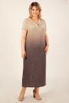 Платье Зарема Милада макси блестящее