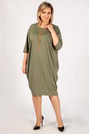Платье Виктория Милада бохо фисташкового цвета