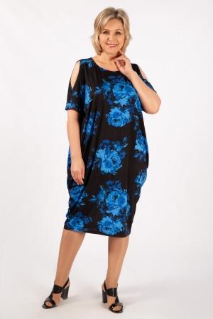 Платье Марго Милада с цветочным рисунком