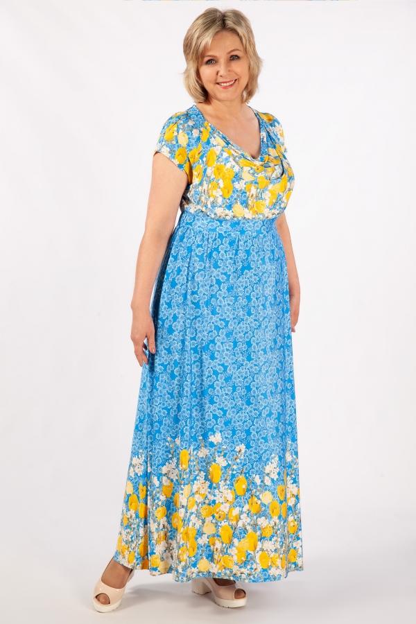 Милада для полных женщин Платье Бланка