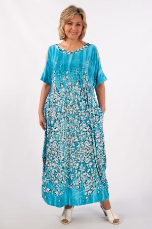 Платье Алиса Милада с разрезами на рукавах фото