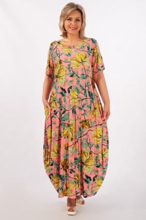 Платье Алиса Милада с разрезами на рукавах