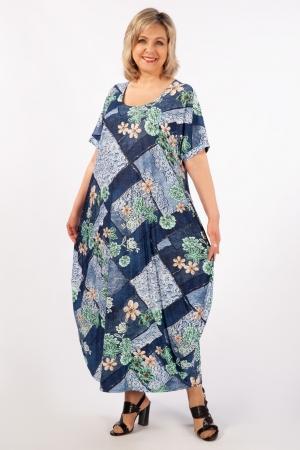 Платье Вероника-2 Милада фото зеленый