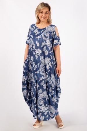 Платье Алиса Милада с узором фото