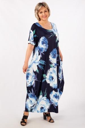 Платье Вероника-2 Милада фото бохо для полных