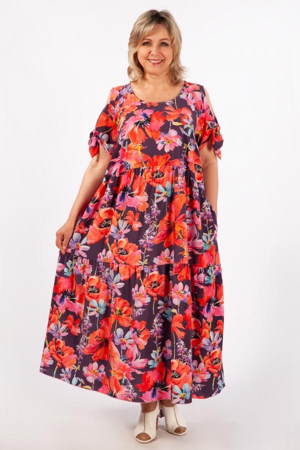Милада в бохо стиле для лета Платье Анфиса