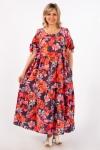Платье Анфиса Милада в бохо стиле для лета