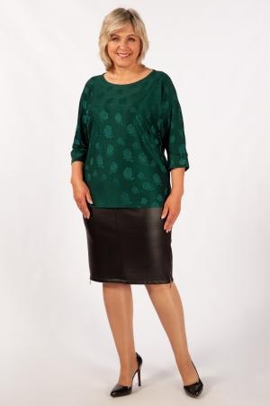 Блуза Дейзи Милада повседневная больших размеров