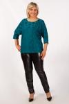 Блуза Дейзи Милада бирюзового цвета