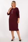 Платье Беретта Милада на полную фигуру
