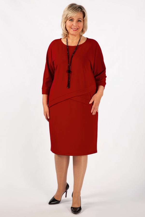 Милада красное Платье Леди