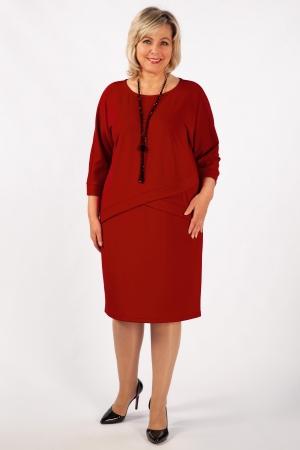 Платье Леди Милада красное