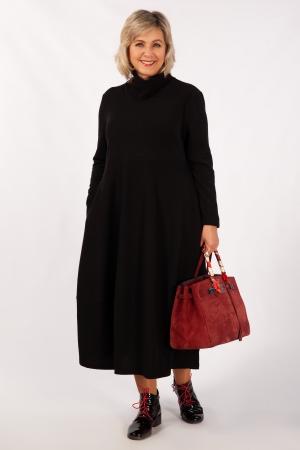 Платье Юна Милада баллон черный
