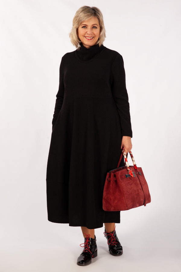 Милада баллон черный Платье Юна