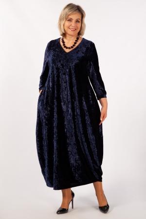 Платье Дорети Милада бархатное фото