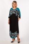 Платье Моника Милада с орнаментом
