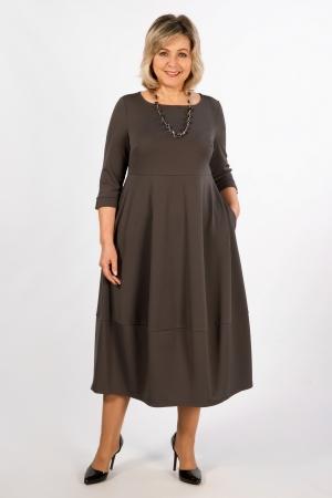 Платье Трейси Милада цвет капучино