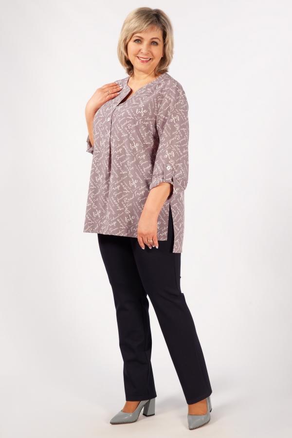 Милада повседневная большого размера Блуза Келли