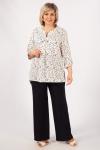 Блуза Келли Милада для полных классического стиля