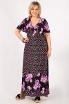 Платье Клеопатра Милада макси для больших размеров