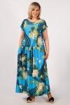 Платье Анджелина-2 Милада с цветочным принтом