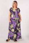Платье Анджелина-2 Милада с цветочным рисунком