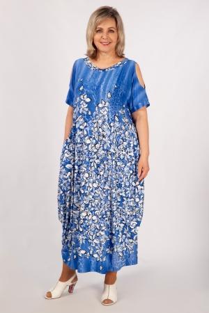 Платье Алиса Милада летнее для полных