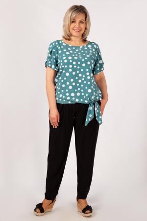 Блуза Алена Милада для полных