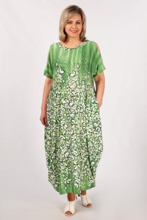 Платье Алиса Милада длинное в пол фото