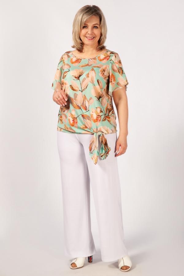Милада 50-64 размера Блуза Алена