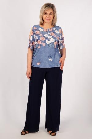 Блуза Симона Милада с рукавами-капельками