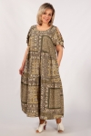 Платье Анфиса Милада с разрезами на рукавах