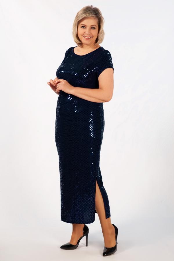 Милада макси блестящее Платье Диор