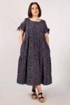 Платье Анфиса Милада макси длины с цветочным принтом
