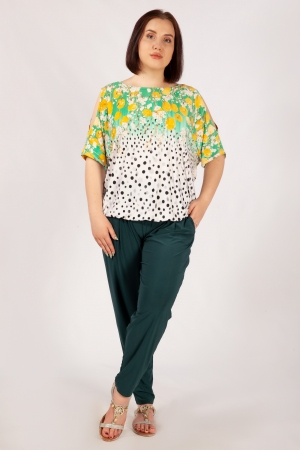 Блуза Симона Милада летняя фото