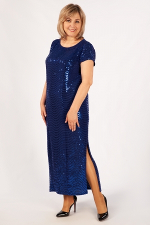 Платье Диор-2 Милада макси длина с пайетками