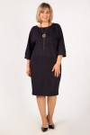 Платье Виола Милада свободного кроя фото