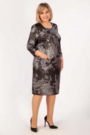 Платье Илона Милада красивое вечернее 64 размера